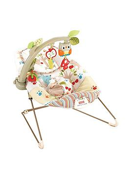 FisherPrice Woodsy Friends Comfy Time Bouncer