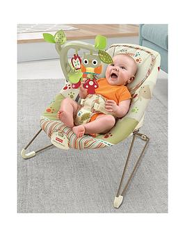 Fisher-Price Fisher-Price Woodsy Friends Comfy Time Bouncer Picture