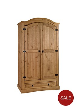corona-2-door-1-drawer-arched-wardrobe
