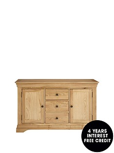 ideal-home-constance-ready-assembled-large-oak-sideboard
