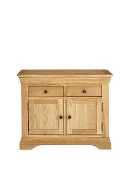 Luxe Collection Luxe Collection - Constance Oak Ready Assembled Compact  ... Picture