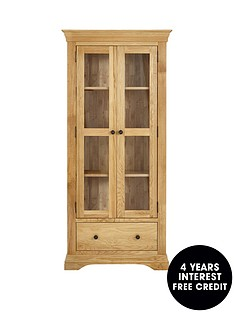 luxe-collection-constance-oak-ready-assembled-glass-door-display-cabinet