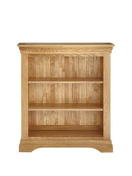 Luxe Collection Luxe Collection Constance Oak Ready Assembled Bookcase Picture