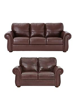 Cassina 3Seater  2Seater Italian Leather Sofa Set (Buy And Save!)