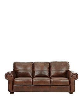 Cassina 3Seater Italian Leather Sofa