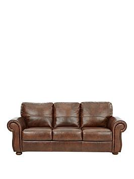 Very Cassina Italian Leather 3 Seater Sofa Picture