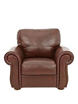 Very  Cassina Italian Leather Armchair