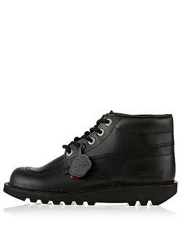 Kickers Kickers Junior Kick Stylee Hi School Shoes - Black Picture