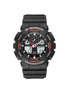 casio g shock red and black mens watch littlewoods com