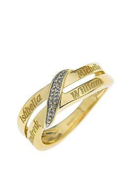 love-gold-personalised-9-carat-yellow-gold-diamond-set-family-name-ring