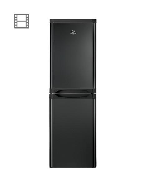 indesit-ibd5517b1-55cm-wide-fridge-freezer-black