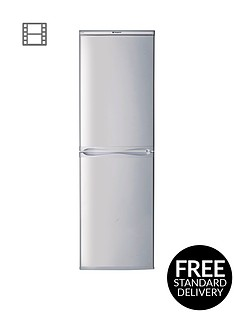 hotpoint-first-edition-hbd5517snbsp55cm-fridge-freezernbspa-energy-rating-silver