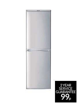 hotpoint-first-edition-rfaa52s-55cm-fridge-freezernbspa-energy-rating-silver