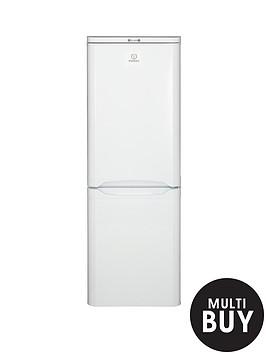 indesit-ncaa55-55cm-fridge-freezer-white