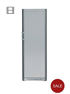 indesit-siaa12s-60cm-tall-fridge-silver