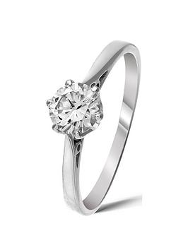 Love DIAMOND Love Diamond 9 Carat White Gold 50Pt Diamond Certified  ... Picture
