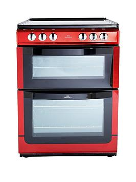 New World Nwe601Edo 60Cm Double Oven Electric Cooker   Cooker With Connection