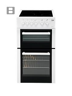 beko-bdvc563aw-50cm-double-oven-electric-cooker-whitenbsp