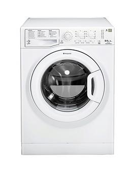 Hotpoint Aquarius Wdal8640P 1400 Spin 8Kg Wash 6Kg Dry Washer Dryer  White