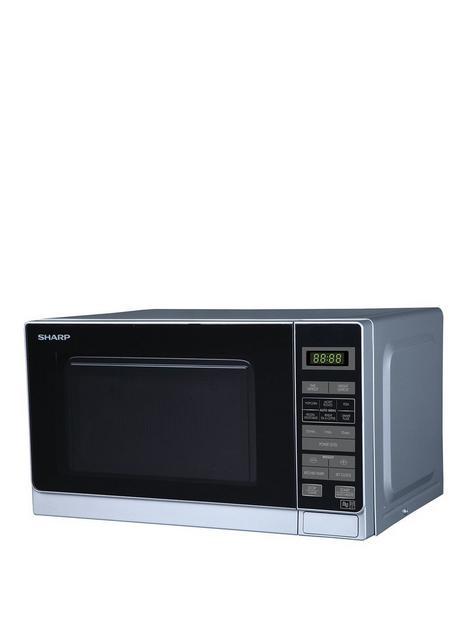 sharp-r272slm-20-litre-solo-microwave-silver