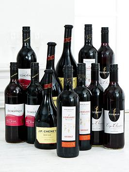 Compare retail prices of 12 Bottles Of Red Wine Pack to get the best deal online