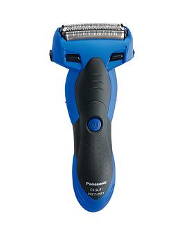 Panasonic   Es-Sl41-A511 Cordless Milano 3-Blade, Wet And Dry Shaver, With Arc Foil - Blue