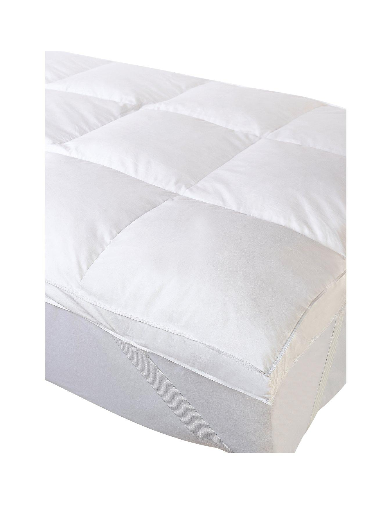 cascade home all natural luxury 3 inch feather mattress topper
