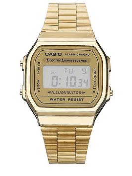 Casio Classic Gold Tone Retro Unisex Watch