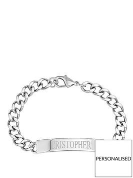 personalised-stainless-steel-identity-bracelet