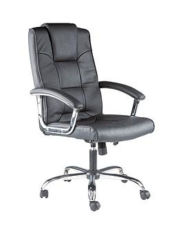 alphason-houston-leather-office-chair