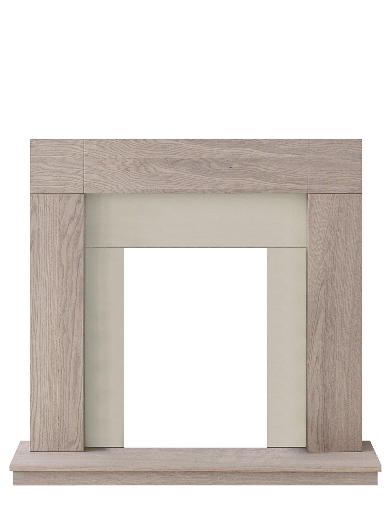 Compare prices for Adam Fire Surrounds Malmo Unfinished Oak Fire Surround
