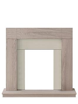Adam Fires & Fireplaces   Malmo Unfinished Oak Fire Surround