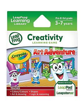 Leapfrog Explorer Game  Crayola