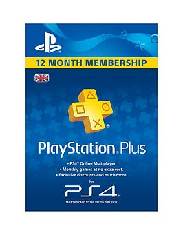 Playstation 4 Plus Subscription 1 Year (365 Days)