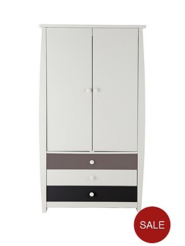 ladybird-orlando-fresh-2-door-3-drawer-kids-wardrobe
