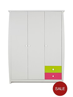 ladybird-orlando-fresh-3-door-2-drawer-kids-wardrobe