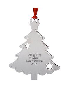 personalised-silver-tree-decoration