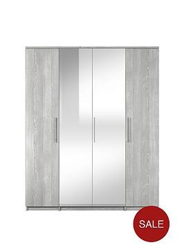prague-4-door-mirrored-wardrobe
