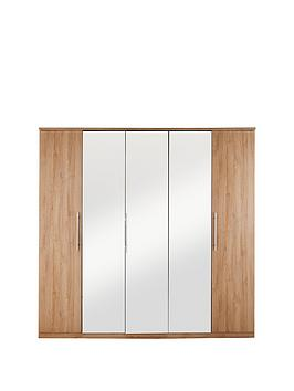 prague-5-door-mirrored-wardrobe
