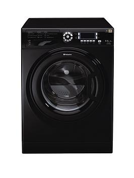 Hotpoint Ultima Wdud9640K 1400 Spin 9Kg Wash 6Kg Dry Washer Dryer  Black