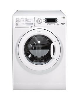 Hotpoint Ultima Wdud9640P 1400 Spin 9Kg Wash 6Kg Dry Washer Dryer  White