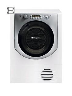 hotpoint-aqualtis-aqc9bf7e1-9kg-load-condenser-tumble-dryer-white