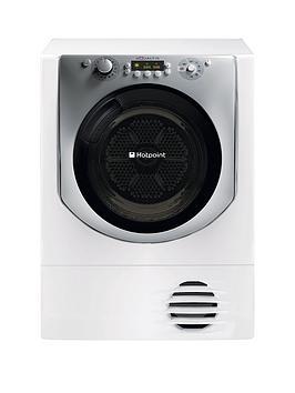 Hotpoint Aqualtis Aqc9Bf7E1 9Kg Load Condenser Tumble Dryer  White