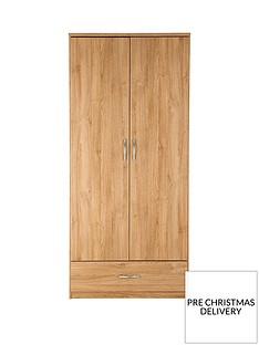 home-essentials--nbspperu-2-door-1-drawer-wardrobe