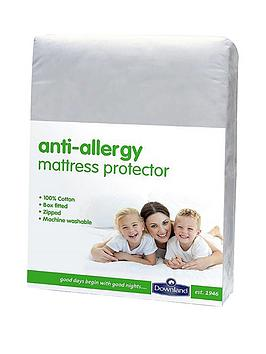 Downland AntiAllergy Deep Zipped Mattress Protector  30Cm Depth