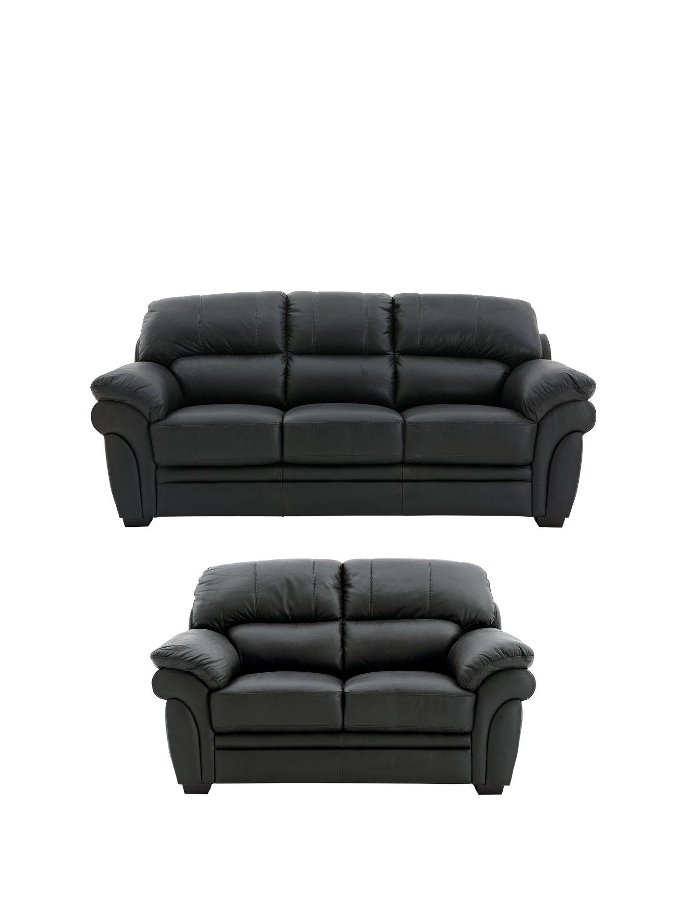 portland leather 3seater plus 2seater sofa buy and save littlewoods com