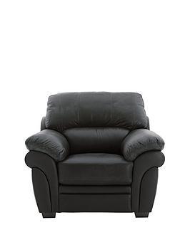 Portland Leather Armchair
