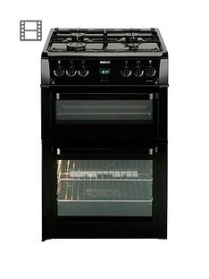 beko-bdvg694kp-60cm-gas-cooker-with-connection-blacknbsp