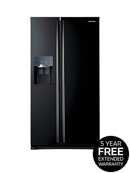 samsung-rs7567bhcbceu-frost-free-american-style-fridge-freezer-with-twin-cooling-plustrade-system-black