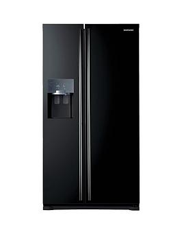 Samsung Rs7567BhcbcEu FrostFree AmericanStyle Fridge Freezer With Twin Cooling Plus&Trade System  Black